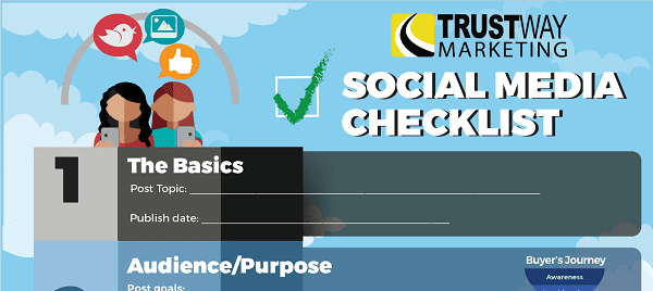 The Ultimate Social Media Checklist